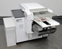 Noritsu D502 sheet-turning device